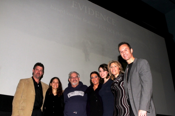 L-r: Vernon Aldershoff, Robin Ann Rapoport, John Depew, Monique Mercogliano-Battista, Maria Natapov, Toula Coin and Mark Lund
