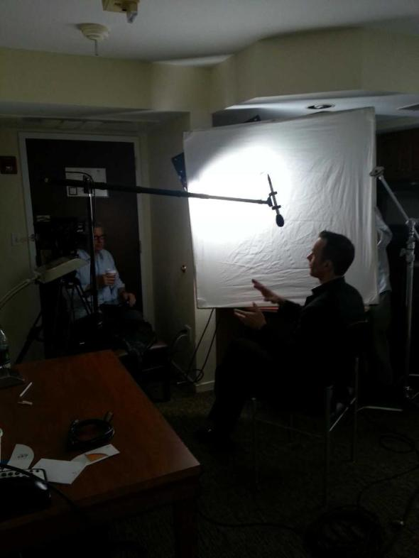 Mark Lund interviewed for an upcoming ESPN 30 for 30 documentary.