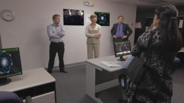 The FVMRI operations center with completed special effects.