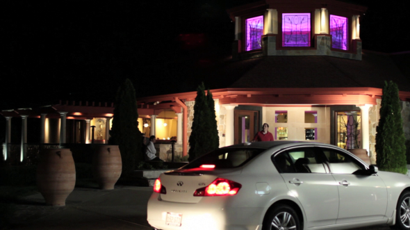 The opening of Henri Miller's restaurant and opening scene of the upcoming clip the production will be releasing.