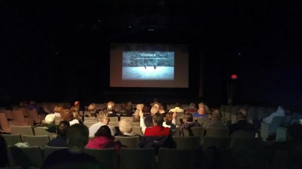 Justice Is Mind: Evidence screening at Old Mistick Village Art Cinemas.