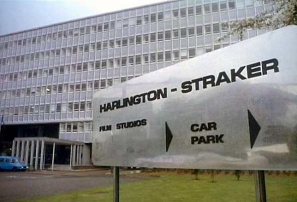 Harlington Straker studios in UFO.