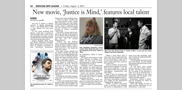 Justice Is Mind- Spencer New Leader article - page 2.