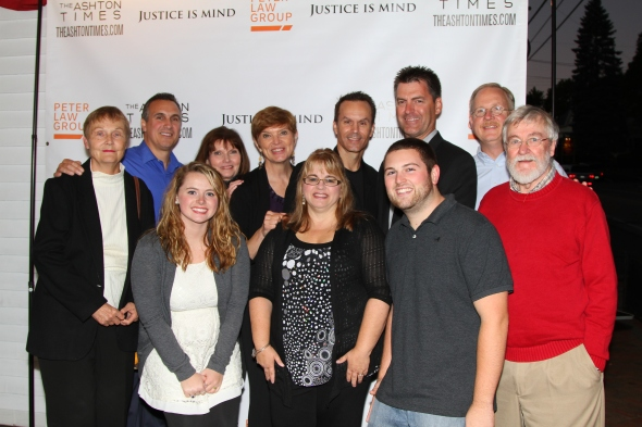 Attending cast members of Justice Is Mind at the Maine premiere.