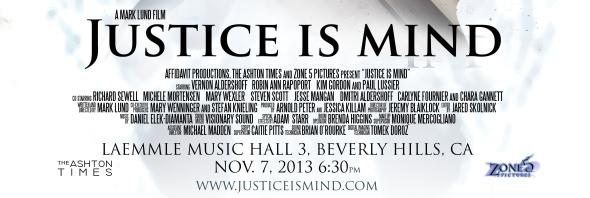 Justice Is Mind - Beverly Hills - November 7 V2