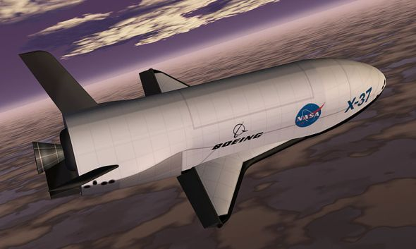 The Boeing X-37 appears in my next screenplay.