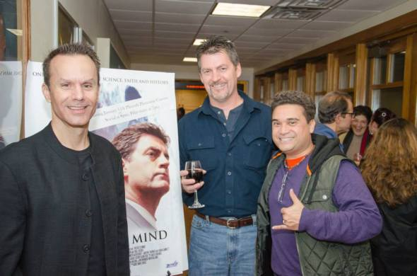 Mark Lund, Vernon Aldershoff and acting coach Kevin Lasit (who trained many of the actors in Justice from the Plymouth region).