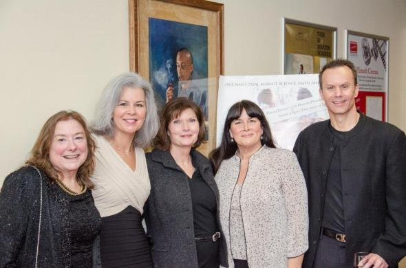 Gail Sullivan, Jeanne Lohnes, Mary Wexler, Carlyne Fournier and Mark Lund.