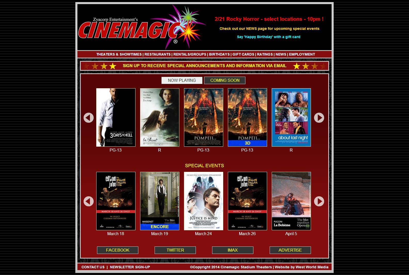 Cinemagic Movies