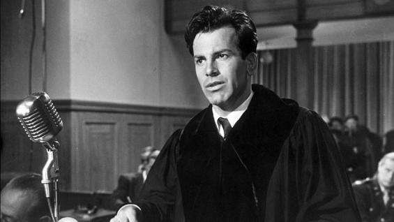 Maximilian Schell in Judgment at Nuremberg