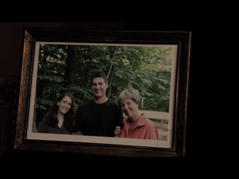The above picture seen in the Miller bedroom after Henri Miller's arrest.