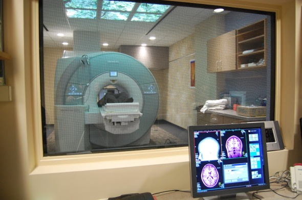 The brain imaging center at CMU. Vern and I will have a tour of the facility prior to the screening.