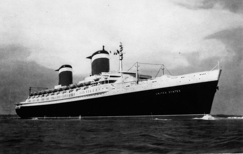 My next project is a political thriller centered around an ocean liner.