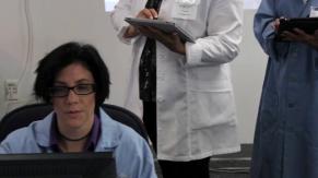 Kim Merriam as an FVMRI tech
