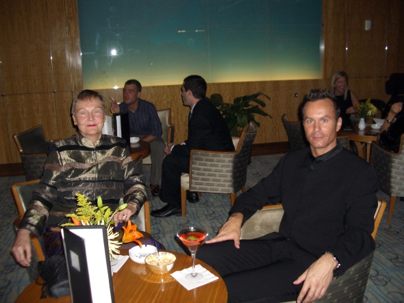 Christmas 2006. On Cunard's Queen Mary 2.