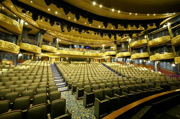 The theater in the Queen Elizabeth where Justice Is Mind will have its international premiere on October 29, 2014