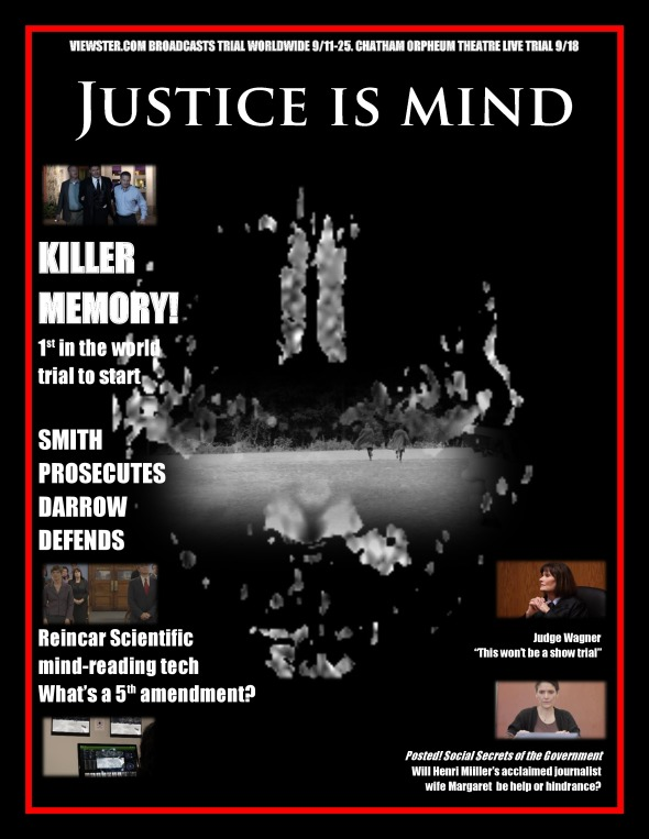 Justice Is Mind magazine poster