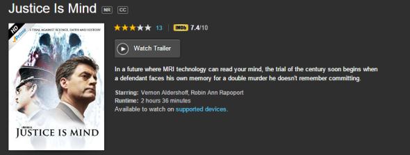 Watch Justice Is Mind on Amazon Prime Instant Video!