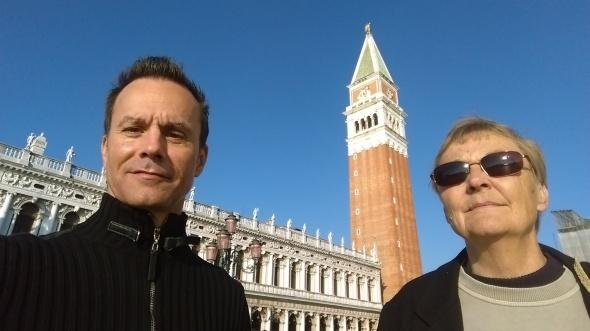 In Venice, Italy.