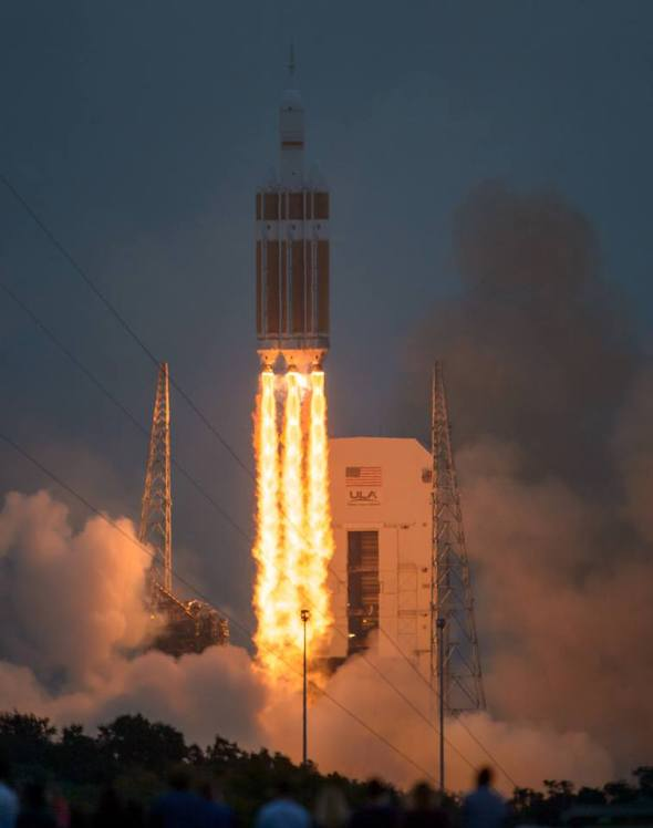 This past week NASA successfully launched Orion. One step closer to the story in First World.