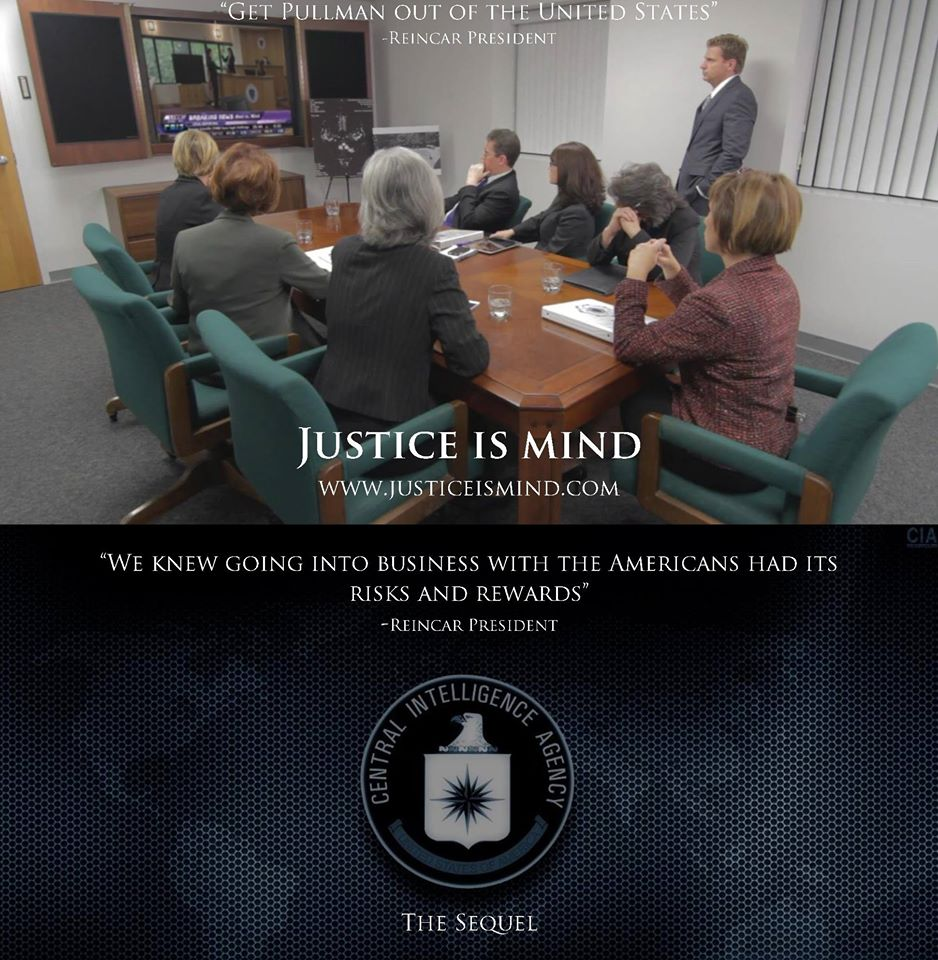 In Justice Is Mind we learn that Reincar Scientific was involved with United States intelligence agencies. In the sequel, we learn the extend of their involvement.