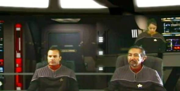 As Cmdr. Conner in Star Trek: Odyssey