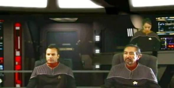 As Cmdr. Conner in Star Trek: Odyssey