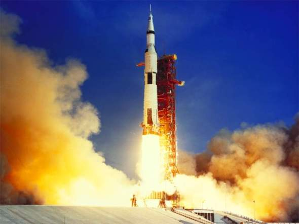 In First World the story revolves around NASA's Apollo 11 mission and what was discovered on the Moon and then classified.