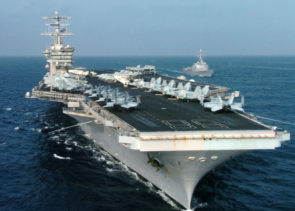 The National Review reported that the U.S. Navy is accessing how it projects power - a central theme in SOS UNITED STATES.