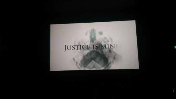 From the screen test at Cinemagic last week.