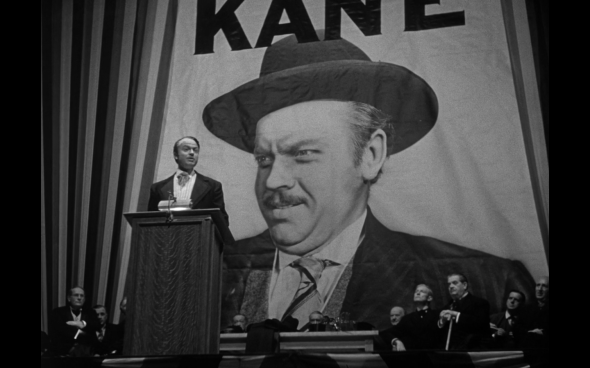 Orson Wells as Citizen Kane.