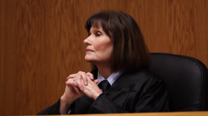Mary Wexler co-stars as Judge Wagner