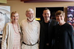 Eleanor Lund, Richard Sewell, Mark Lund and Kim Gordon