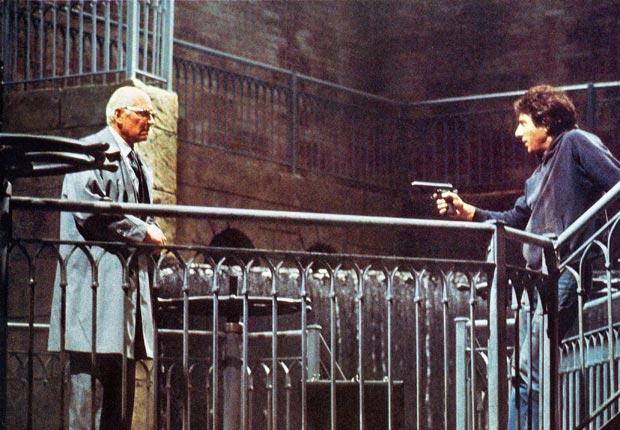 """Is it safe?"" Marathon Man (1976) Directed by John Schlesinger. Laurence Olivier with Dustin Hoffman."