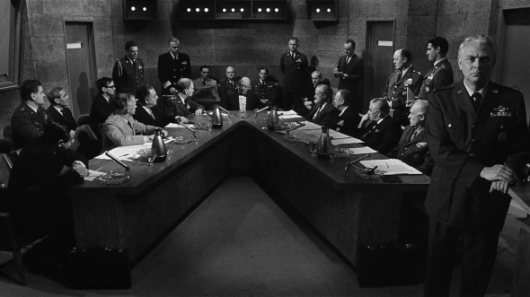 As in the movie Fail Safe, the majority of SOS United States takes place in war rooms and bunkers.