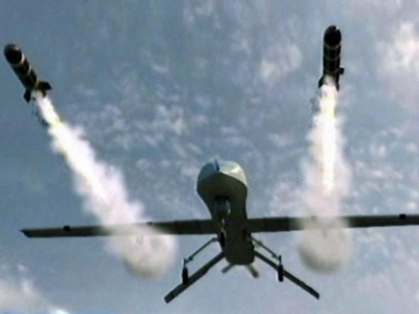 To resolve the crisis the President and Prime Minister order a drone strike into a neutral country.