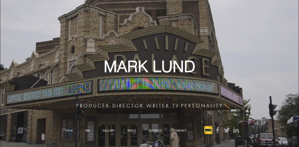 Mark Lund   Producer. Director. Writer. TV Personality.