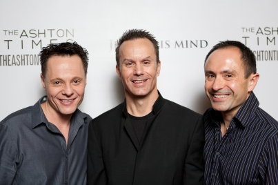 With Anthony and Bryan at the LA premiere of Justice Is Mind.