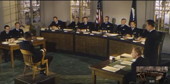 the-caine-mutiny-1954-humphrey-bogart-court-scene-youtube
