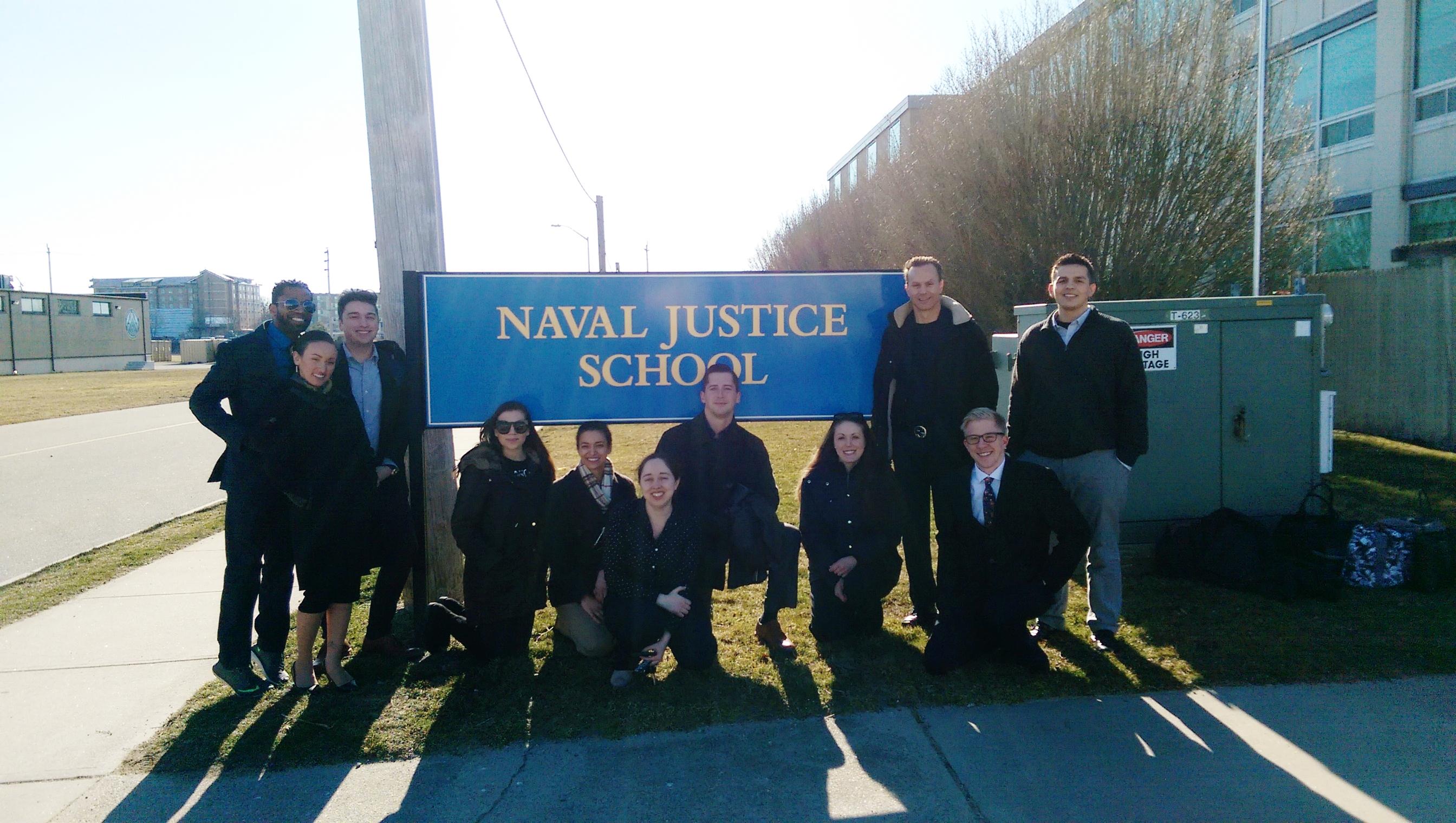 Naval Justice School - March 2017