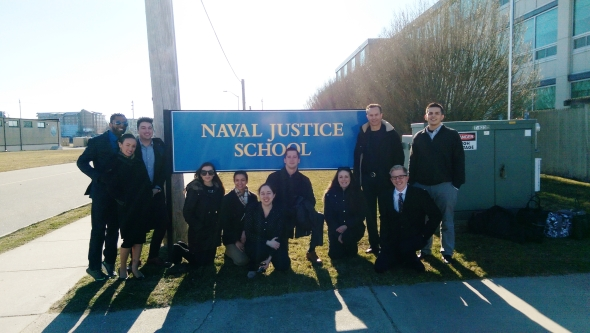 Naval Justice School - March 2017