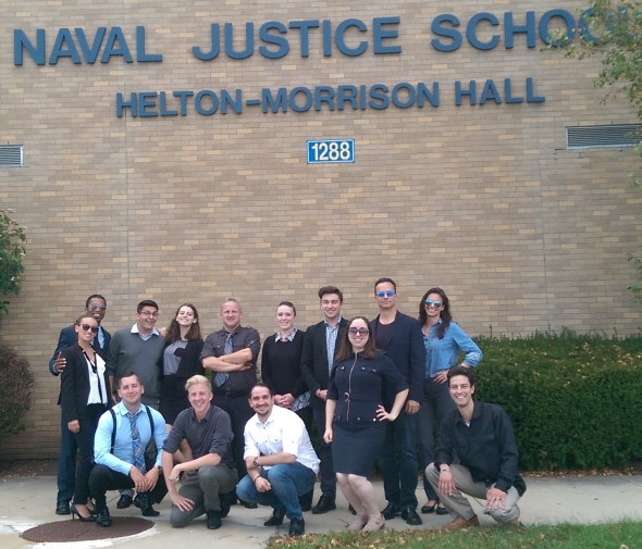 Naval Justice School Group Photo