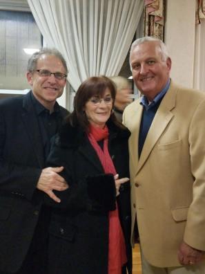 Larry Zimmerman, Tina Noyes, and Gerry Lane .
