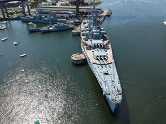 Battleship Cove.